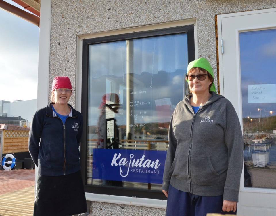 Café Kajutan med Katja Iinatti och Johanna Leino