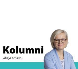 Maija Arosuo kolumni